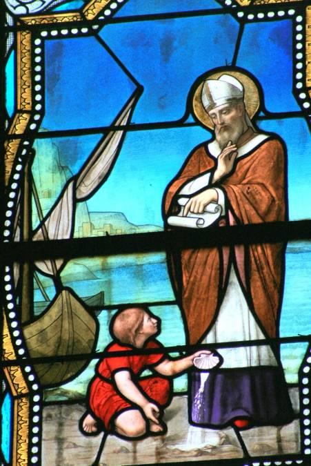 Dej ntuj chaw ua si nyob Plage de Vaillon Talmont Vendée 85 Eglise-st-philbert-2140